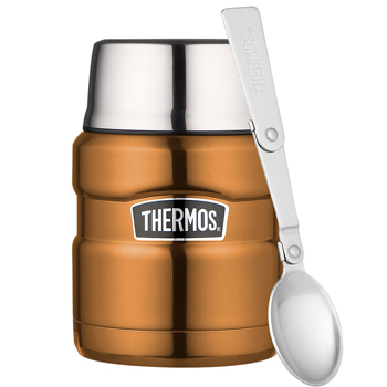 Thermos King alimentaire 0.47 litres brun cuivre TH4BR