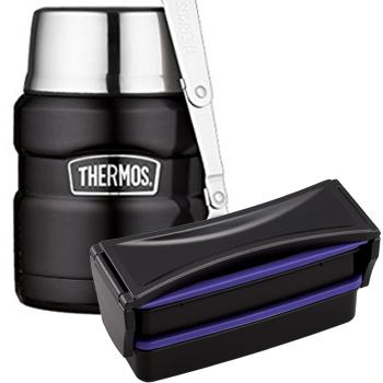 Combo bento Thermos noir - TH4NM-COLOR